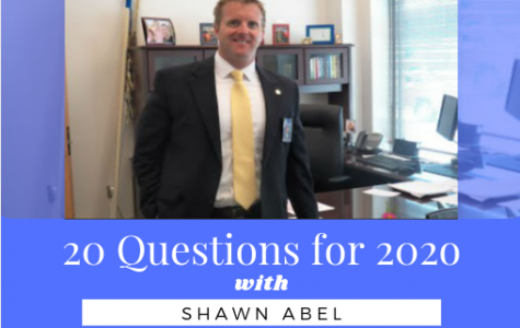 20 questions for 2020 with Principal Shawn Abel