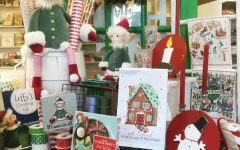 Cottage Lane Gift shop in Sycamore Square offers a variety of Christmas gifts for the holiday season.