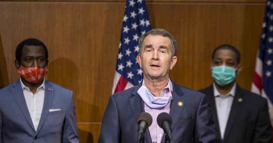 Virginia Governor Ralph Northam announced new COVID-19 restrictions during his press conference on December 10, 2020.