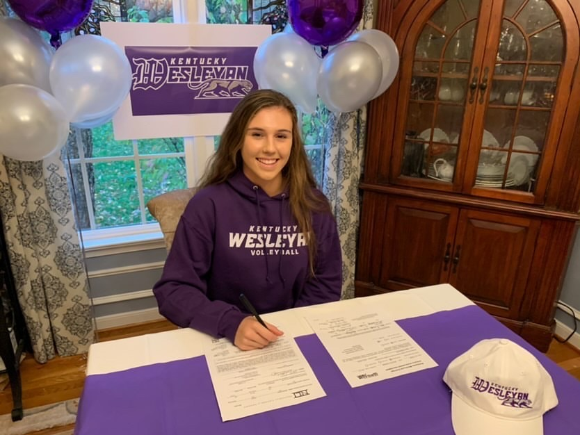Diana Wesolosky commits to play Division 2 Volleyball at Kentucky Wesleyan College.