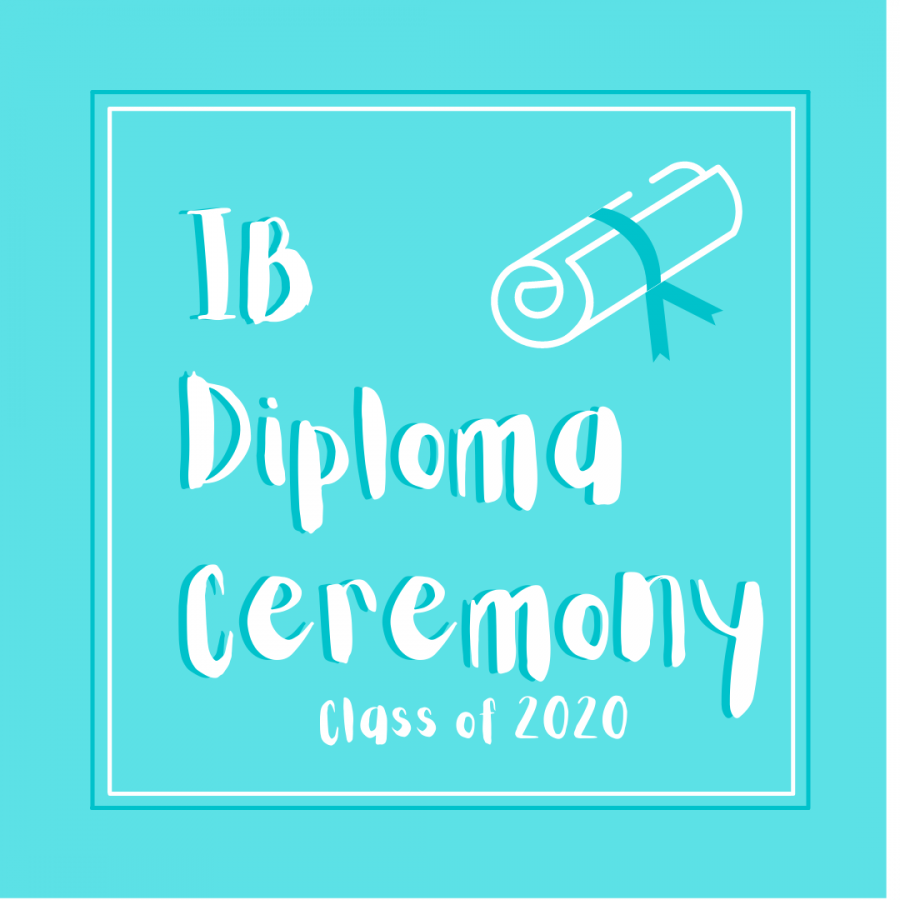 Midlo Class of 2020 celebrates completion of IB Diploma Program on January 7, 2021 with a diploma receiving ceremony.