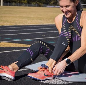 Midlothian resident Keira D'Amato signs to run professionally for Nike.