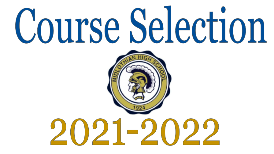 Students select their classes for the 2021-2022 school year.
