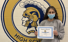 Tina Walke is awarded January 2021 Employee of the Month.