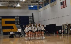 Girls Volleyball Senior Night 2021
