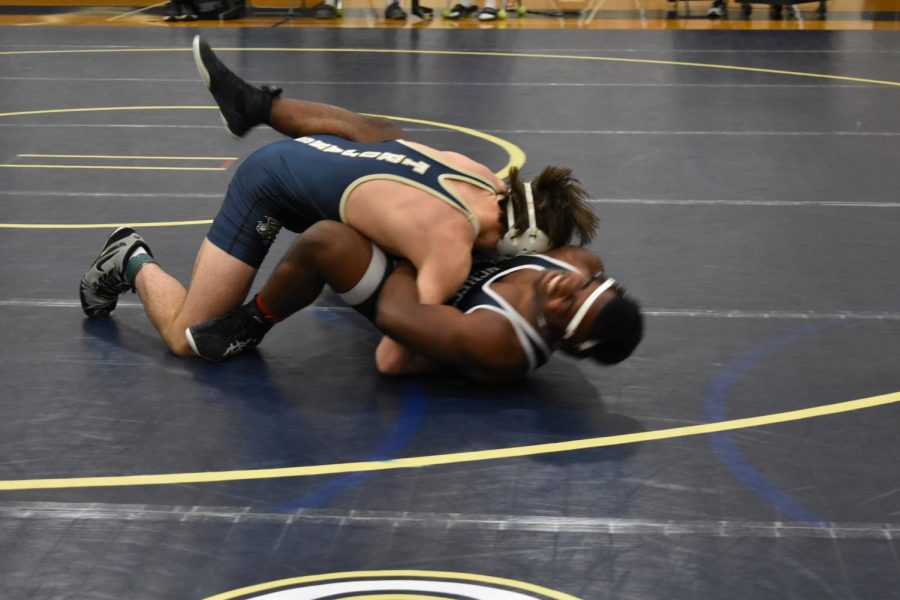 Crew Gregory's passion for wrestling helped him dominate the state tournament.