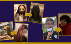 Midlo students took advantage of their time off during quarantine to dye, cut, and grow their hair.