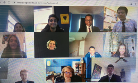Model UN virtually visited Maggie Walker