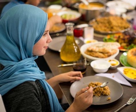 Muslim community celebrates the holy month of Ramadan.