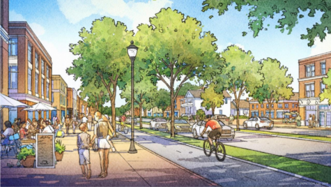Architectural rendering displays Midlothian Turnpikes possible future through the Midlothian Special Area Plan.