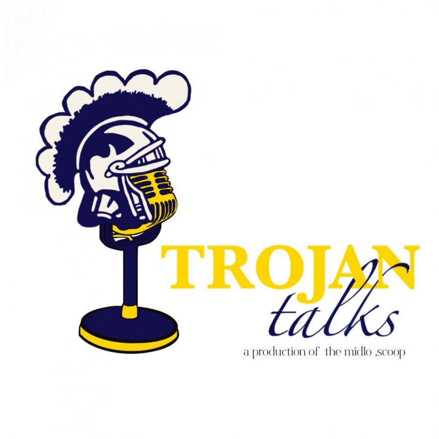 Trojan Talks Logo