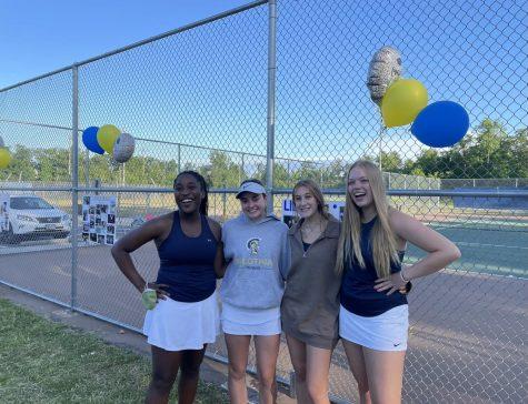 Midlo Girls Tennis Senior Night 2021