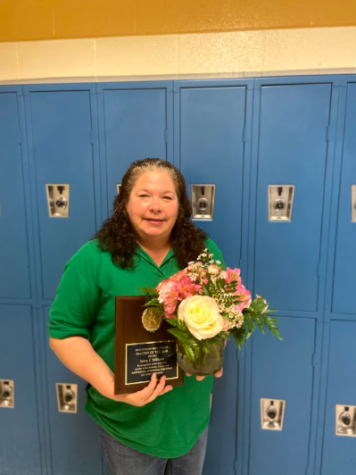 Ms. Williams serves an inspiration for students and teachers as the 2021 Teacher of the Year.