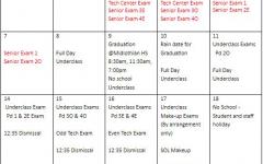 2021 Exam Schedule