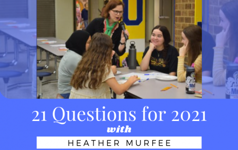 21 questions with Head Librarian, Ms. Heather Murfee