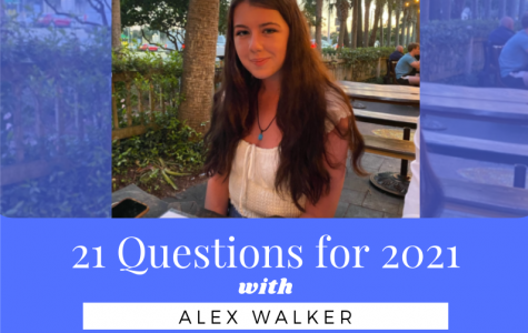 21 Questions with Junior Vice President, Alex Walker