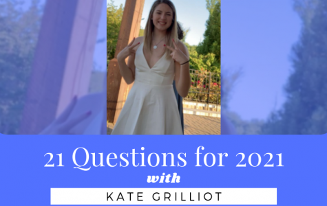 21 Questions with Sophomore Class Vice President Kate Grilliot